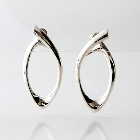 silver earring<br>DR010E