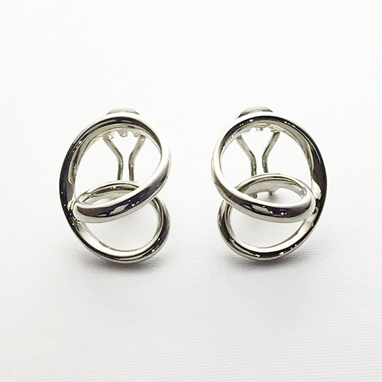 silver earring<br>DR042E