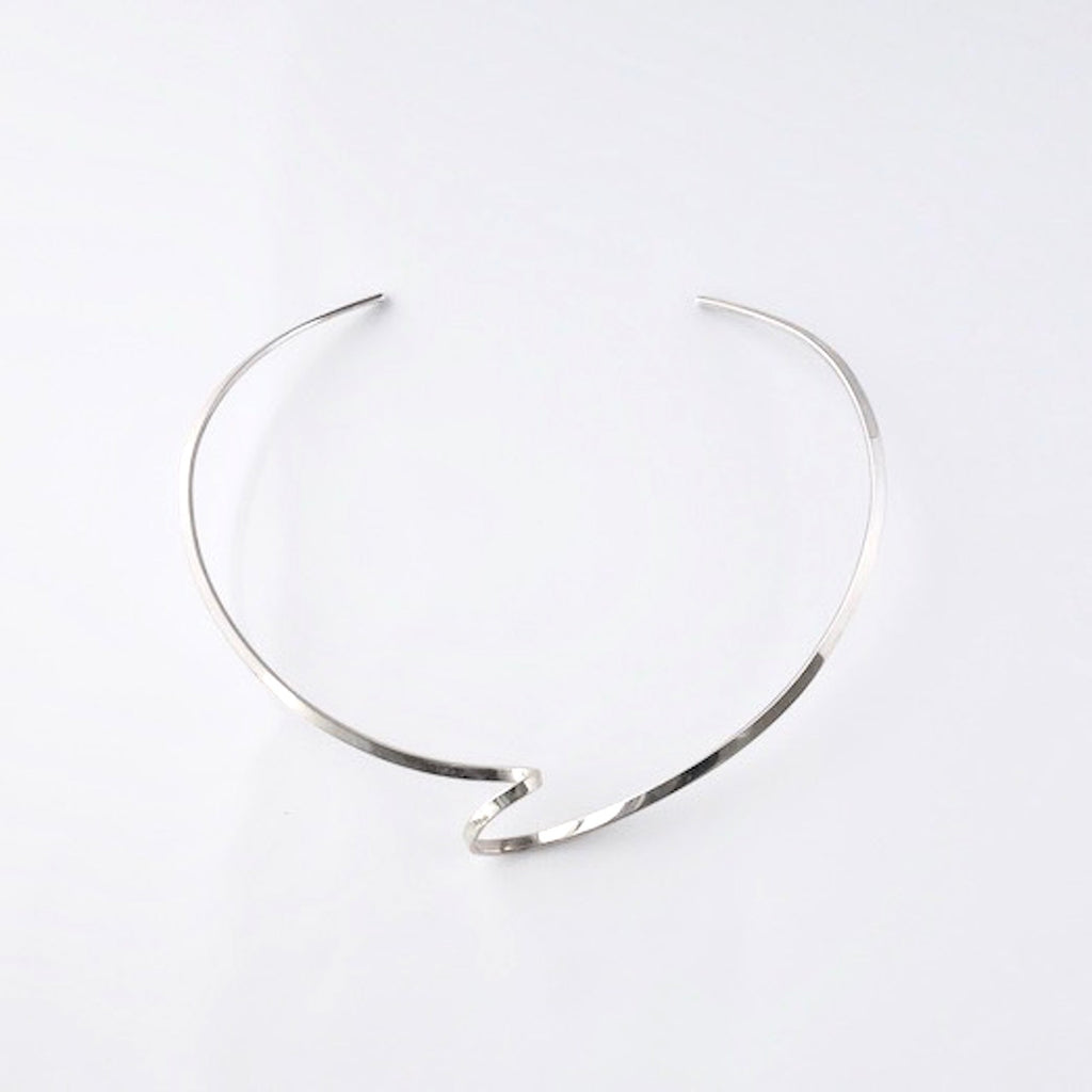 silver choker<br>DR061