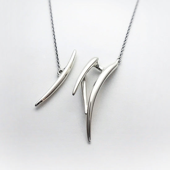 silver necklace<br>DR072