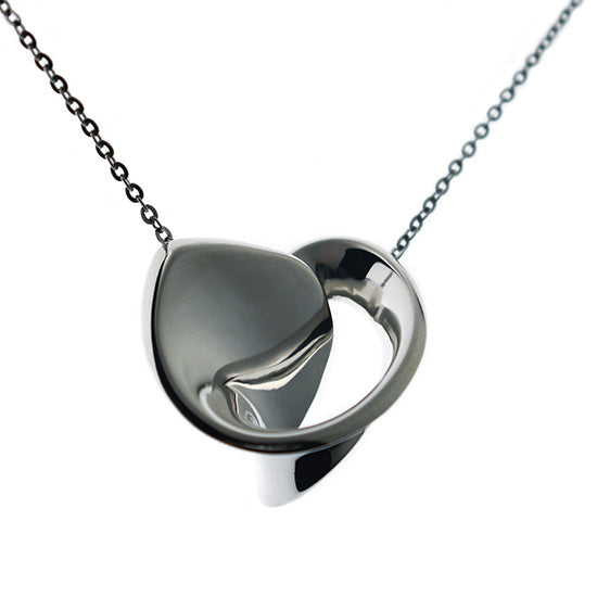 silver necklace - GA115