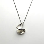 silver necklace<br>WA011