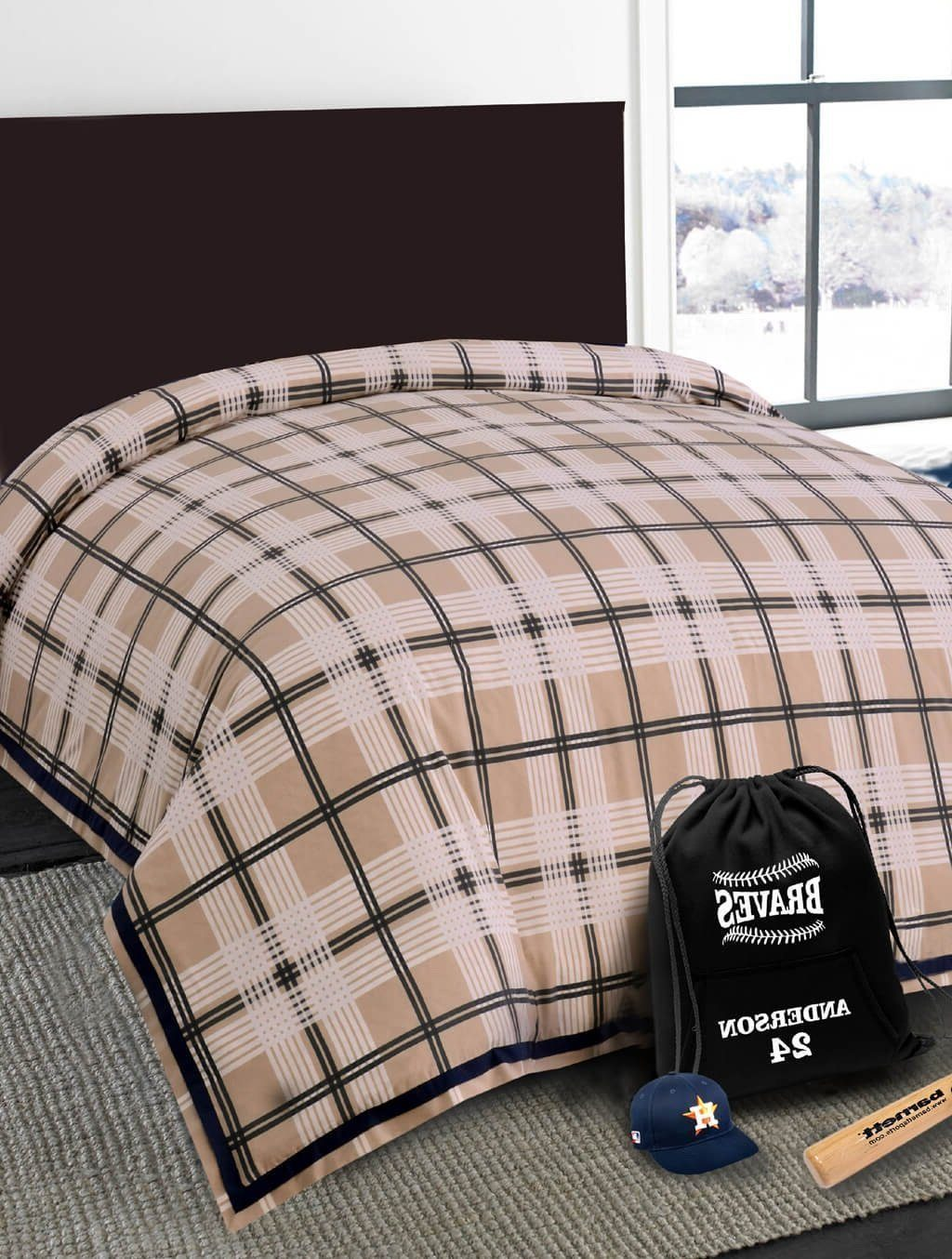 Baseball Club Teens & Kids Bedding HOMBEDIMP QUILT COVER SINGLE
