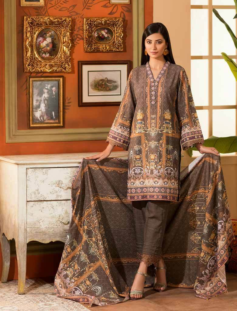 DOVE KKH-14022 Winter 3 Pcs stitched FASUNSLAD