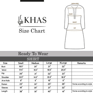Printed Khaddar Shirt DR-381 Winter Kurti FASSTILAD