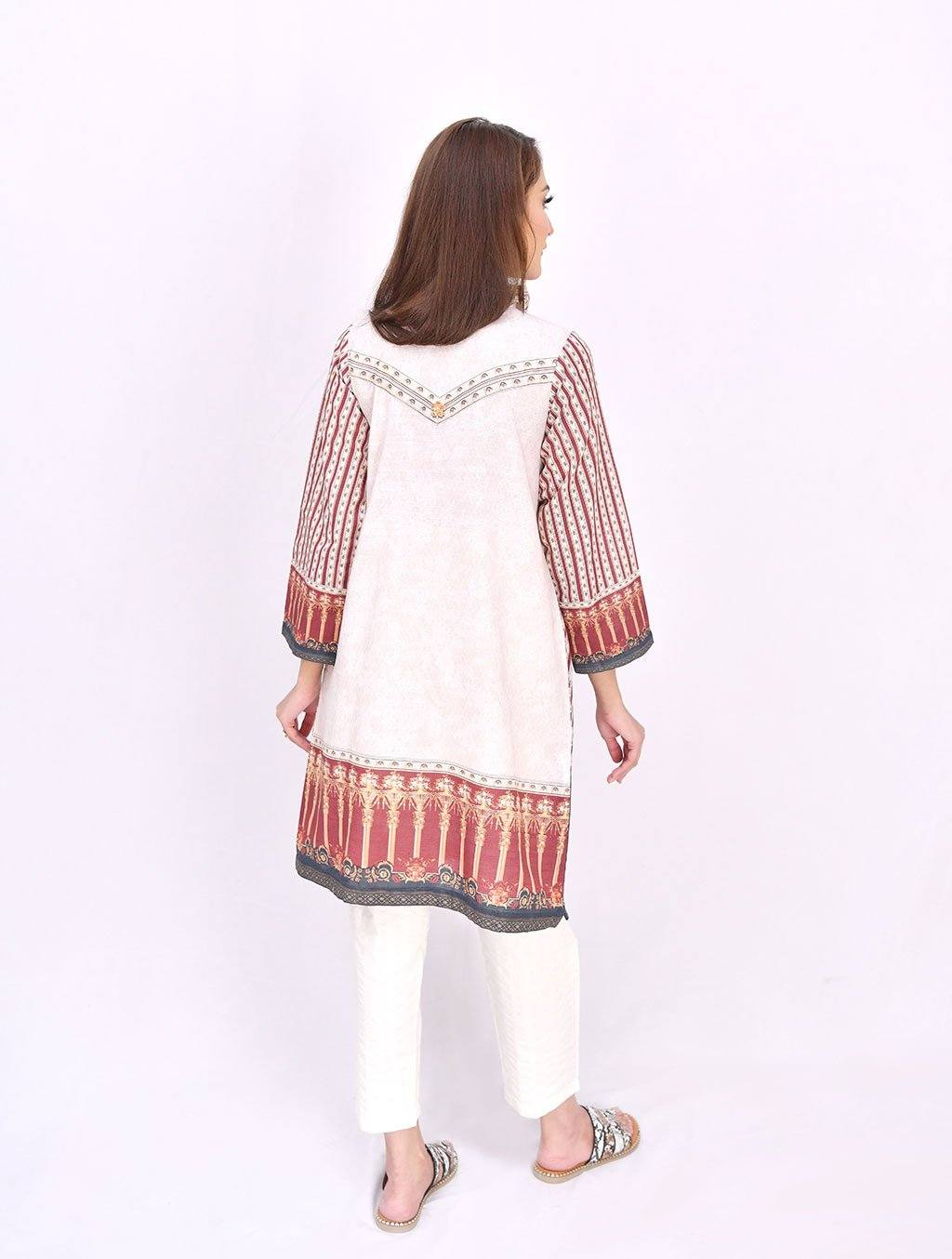 Printed Kurta DR-427 Winter Pret FASSTILAD