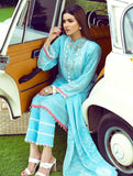 Printed Lawn Gleaming Air 3 - Piece Stitched Suit KLA-9094 KHAS STORES US