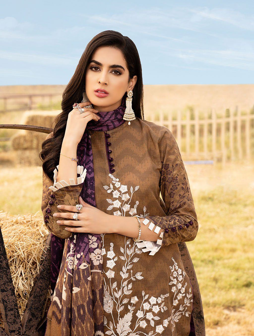 Shirt Shalwar Dupatta KKS-1017 Winter Collection 2020-Vol 2 FASUNSLAD