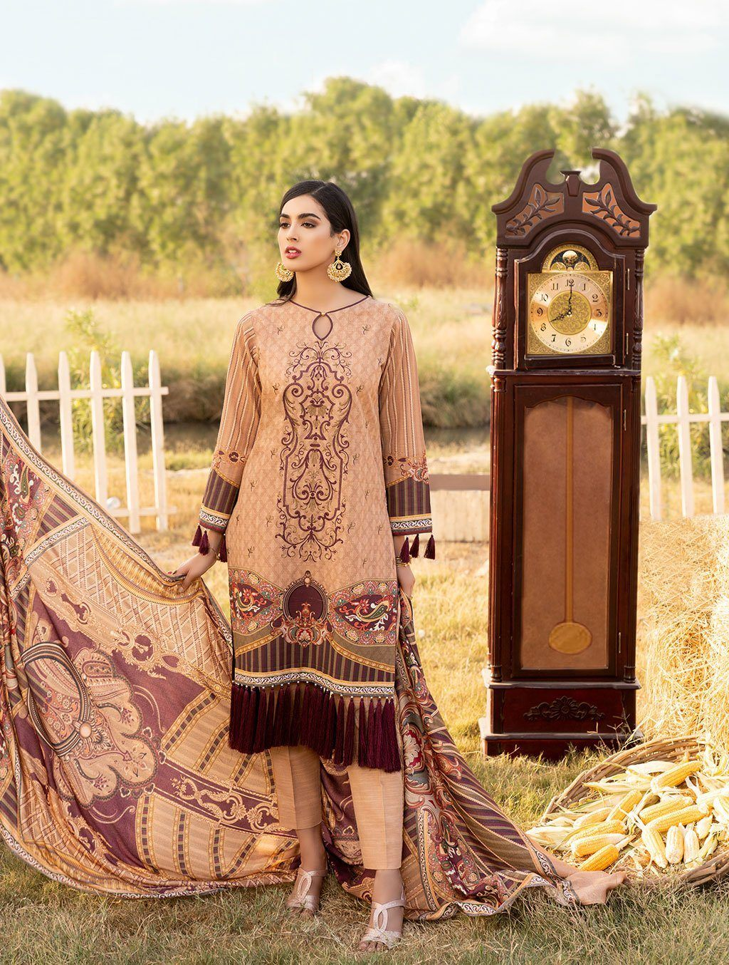 Shirt Shalwar Dupatta KKS-1020 Winter Collection 2020-Vol 2 FASUNSLAD