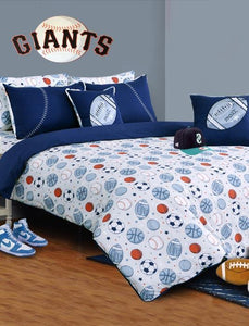 SPORTS BALL Teens & Kids Bedding HOMBEDIMP