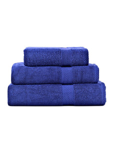 Towels Plain D/Blue Dyed Towels HOMBATTOW Bath Towel