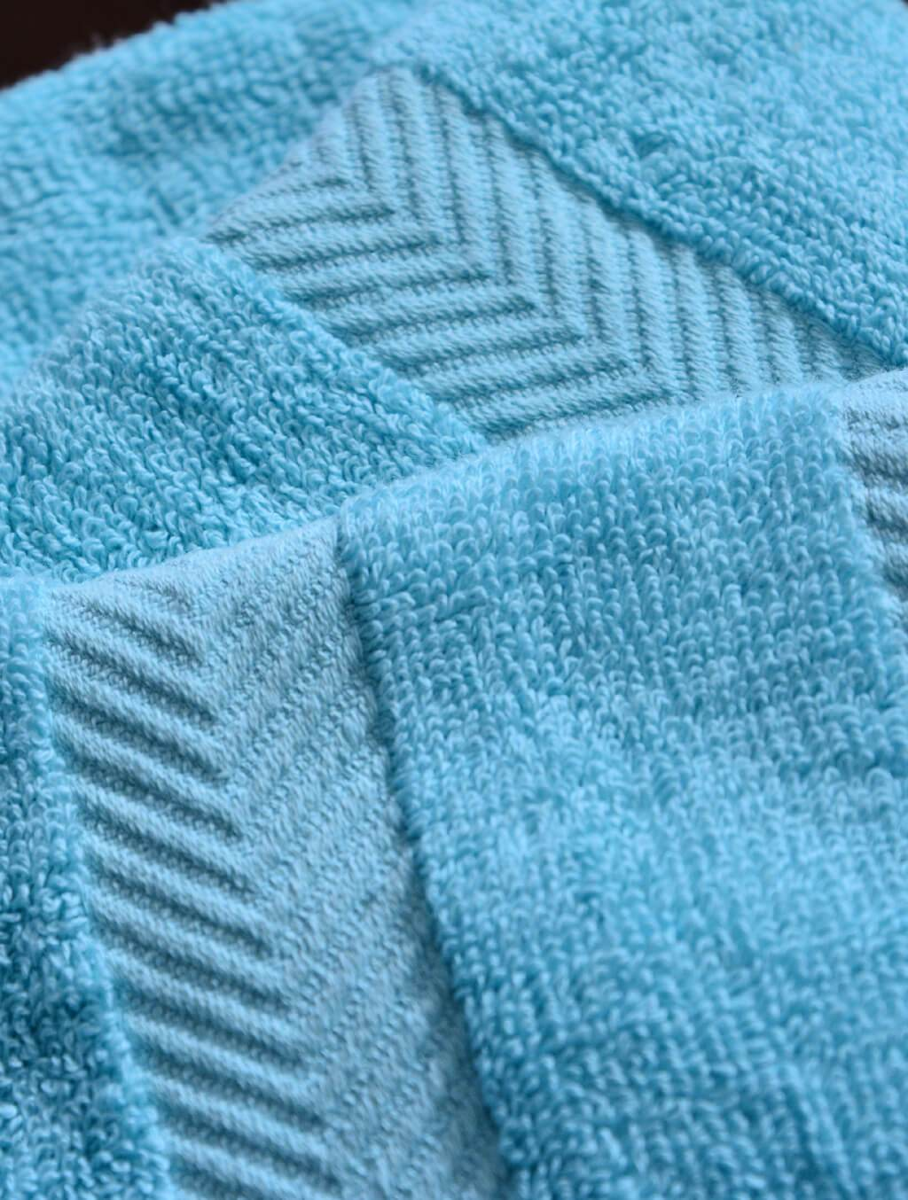 Towels Plain L/Blue Dyed Towels HOMBATTOW Bath Towel