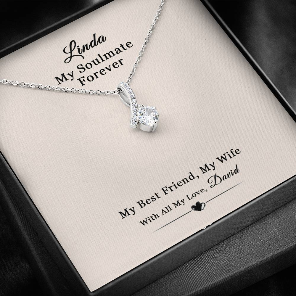 Husband To Wife Best Friend Wife Alluring Beauty Necklace