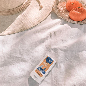 Mustela Sunscreen is an essential for evert baby registry checklist