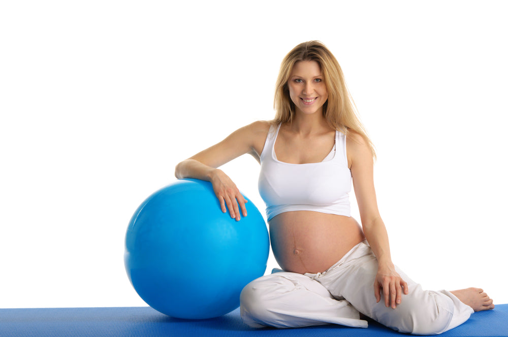 yoga while expecting or pregnant