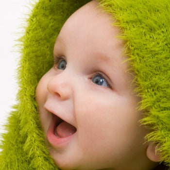 drying off your baby with eczema prone skin