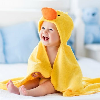 happy after bath time which is another area on a baby registry checklist that gets a lot of attention