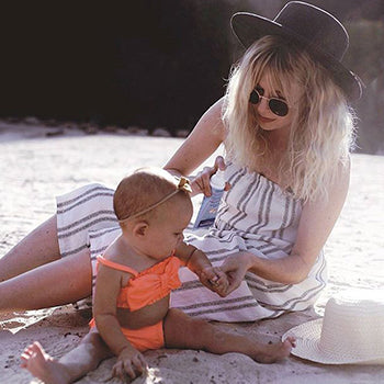 one of the best ways to avoid baby sunburn is using sunblock