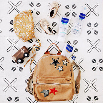 backpack with diaper bag essentials
