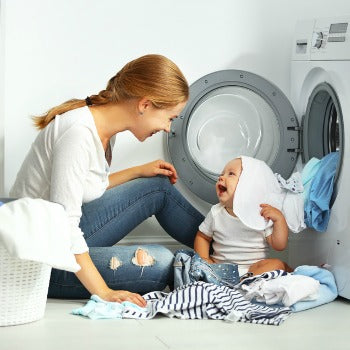 wash cloth diapers thoroughly to prevent diaper rash