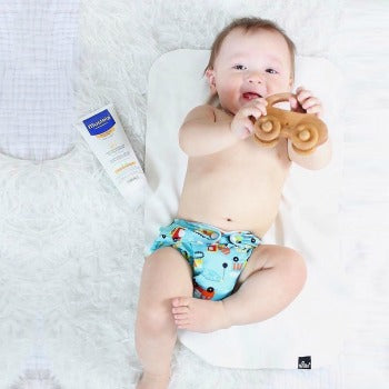 Baby with dry skin