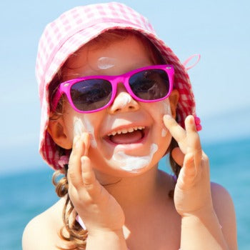 mineral vs. chemical sunscreen should be considered when applying sunscreen to baby's skin