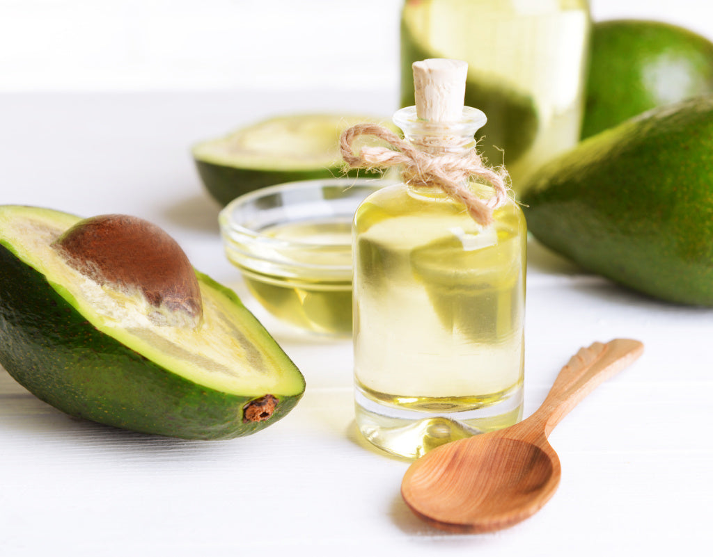 avocado and oil for clean skin care