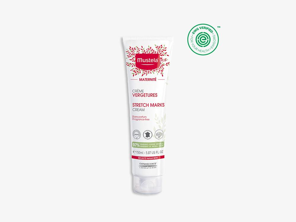 Stretch Marks Cream Fragrance Free 150 Ml Mustela Usa