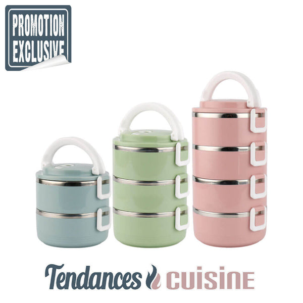 Lunch Box Bento Japonaise Multi Compartiments Isotherme 3 Versions - Tendances-cuisine.fr