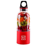 Mini mixer Fruits USB 500 ml Rouge Tendances-cuisine.fr