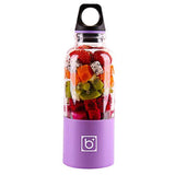 Mini mixer Fruits USB 500 ml Violet Tendances-cuisine.fr