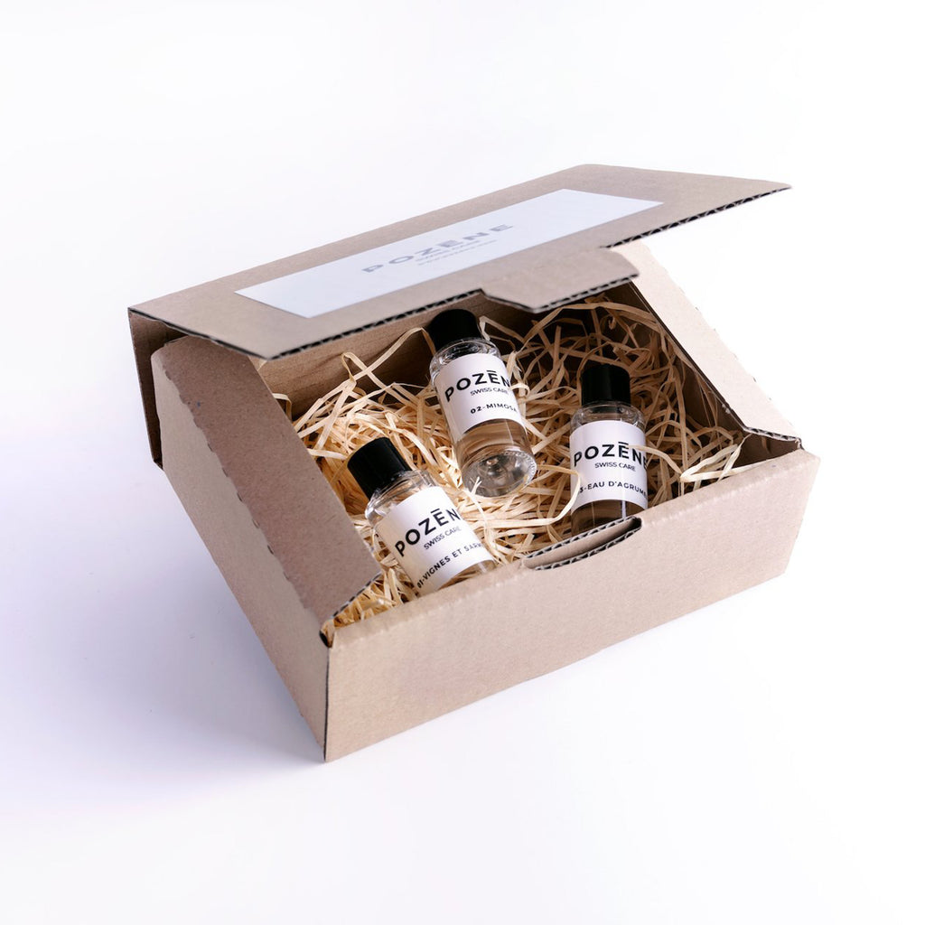 Gift Box - 3 x 30 ml Scented Hand Sanitizer