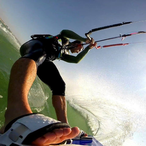 Kitesurfing Kiteboard and Wakeboard GoPro Mount
