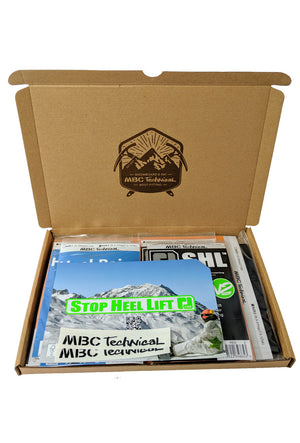 MBC Technical Boot Fit Pack Mini for SKI & SNOWBOARD boots first aid