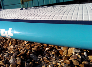 Paddleboard / SUP Rail Tape by MBC Technical Transparent Laser Cut