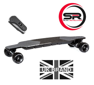 Flex-Eboard Electric Skateboard with Flexible Battery! Made by Slick Revolution