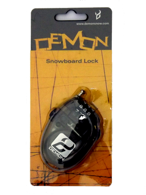 Mini Snowboard Ski Boot Cable Lock