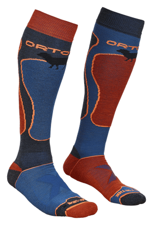 New for 2018 SKI & SNOWBOARD Merino ROCK'N'WOOL SOCKS Mens by Ortovox
