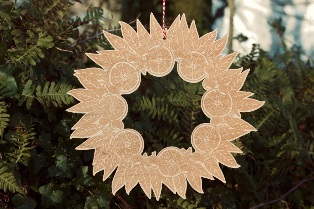 Laser cut Christmas items in our shop