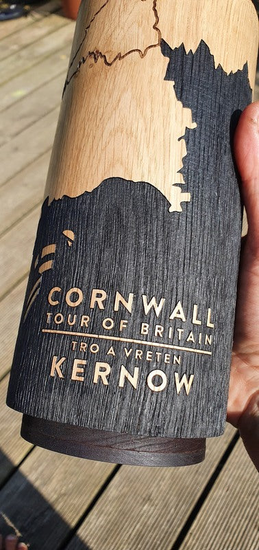 Tour of Britain Trophy for Cornwall Stage