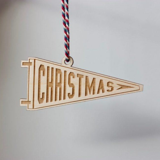 Christmas Flag Decoration