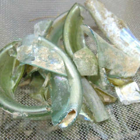 Roman glass - larger pieces