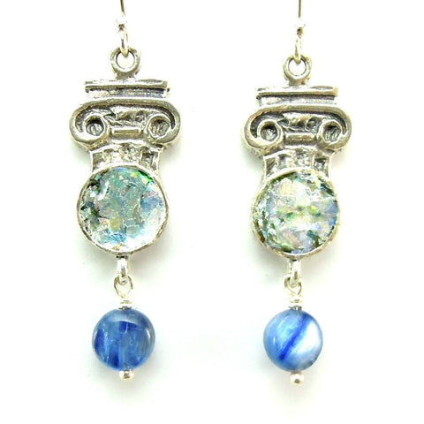 Earrings - Pillar Shaped Kyanite Earrings