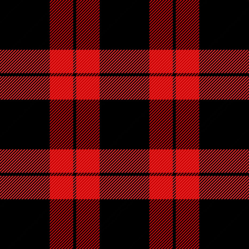 Plaid Red -