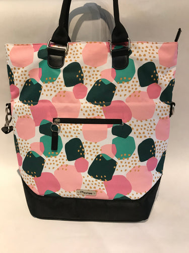 Pannier Single - Multicolor - Pink/green/White
