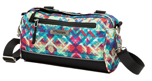 Handlebar Bag - Velcro - Crossbody Bag - Multicolor