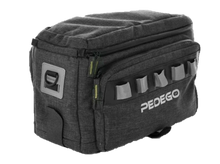 Load image into Gallery viewer, Pedego Trunk Bag - Black - Reflective - Rain Cover
