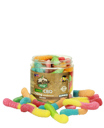 Gummy Worms Sunstate hemp