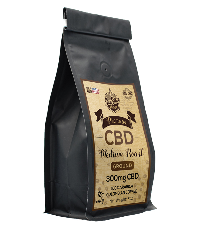 CBD Coffee Sunstate Hemp 300mg