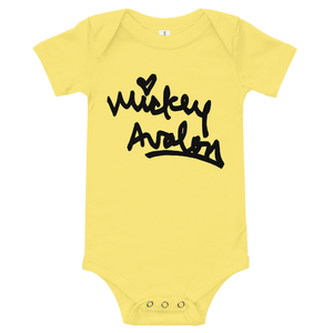Signature Logo Onesie (Yellow)